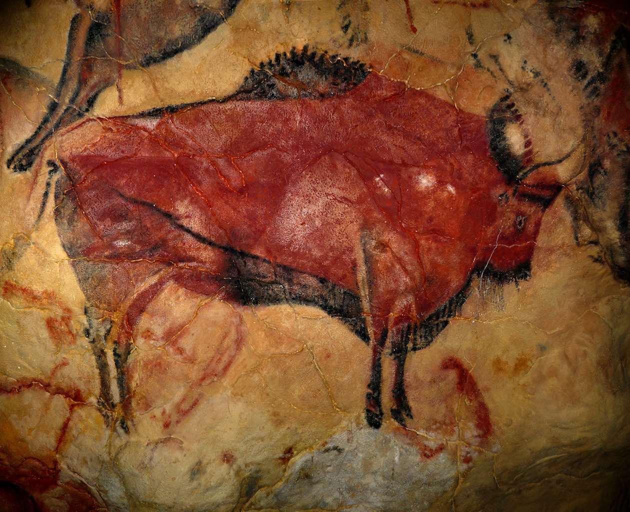 Bisonte de Altamira (foto de Wikipedia)